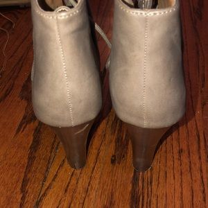 Charlotte Russe Shoes - Heeled combat boots